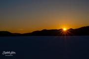 12th Apr 2019 - First sunset on Svorksjøen in 2019
