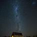 Lake Tekapo stars over the Good Shepherd church