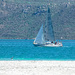Sailing on Langebaan lagoon