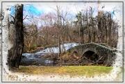 13th Apr 2019 - Stone Bridge at Buttermilk Falls