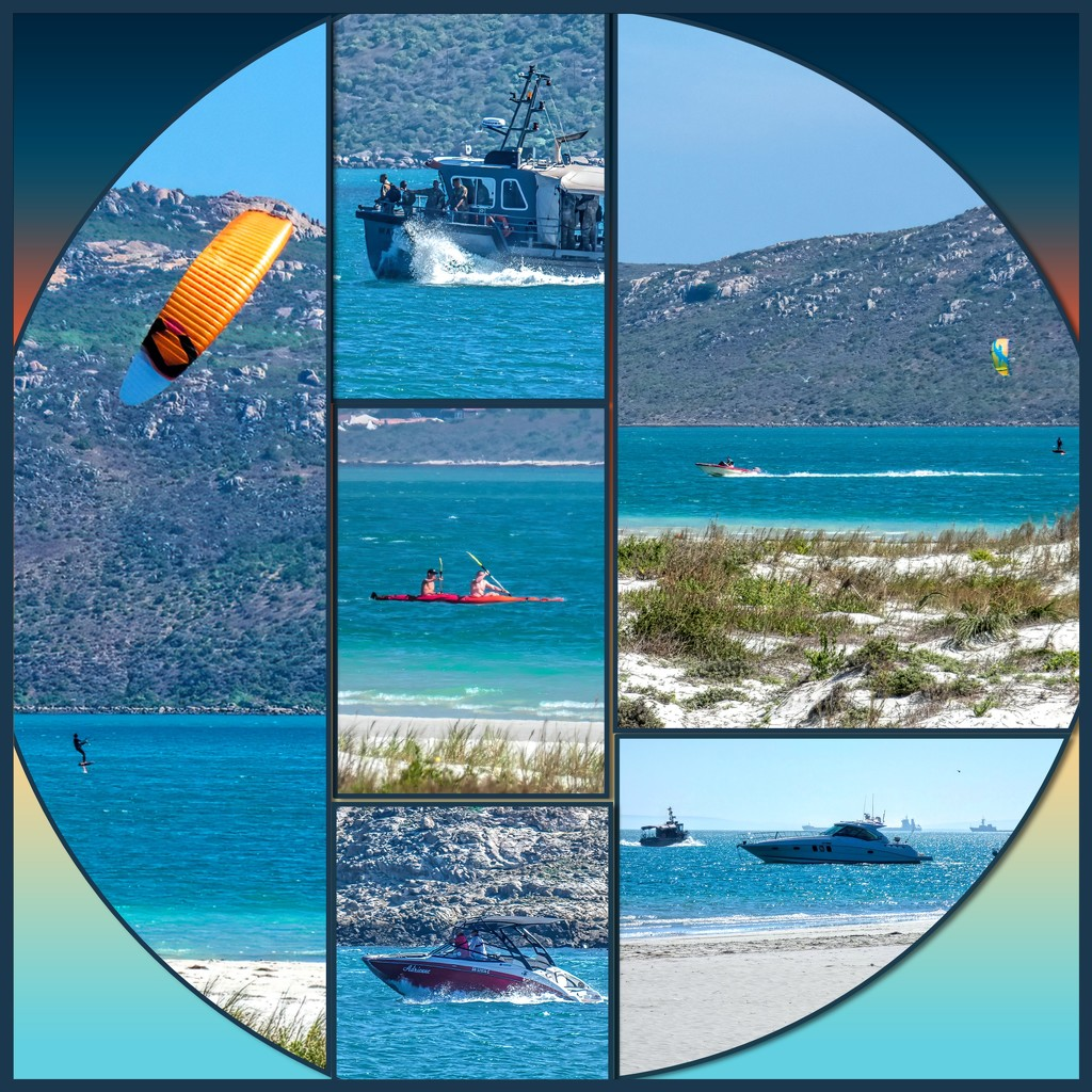 Watersports on the Langebaan Lagoon by ludwigsdiana