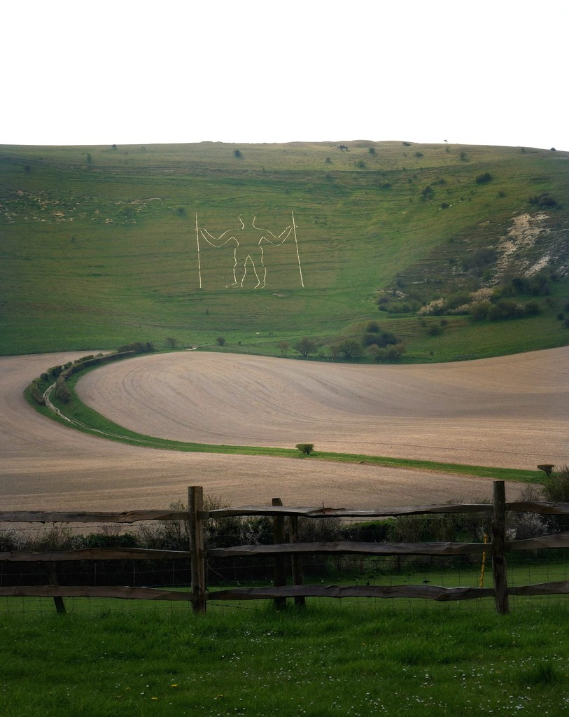 The Long Man of Wilmington I by 4rky