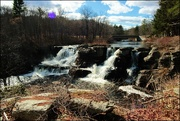 14th Apr 2019 - Resica Falls on a Lovely Spring Day