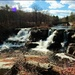 Resica Falls on a Lovely Spring Day