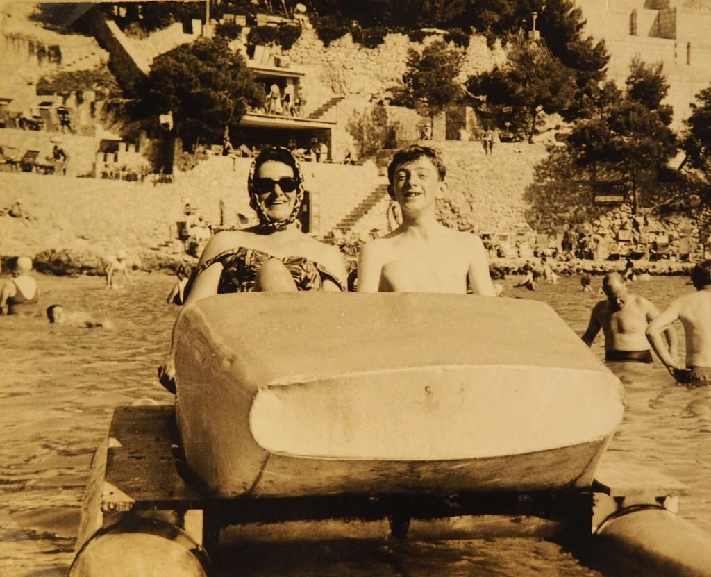 Treasure, 15   Mum & Michael, Majorca, 1966? by s4sayer