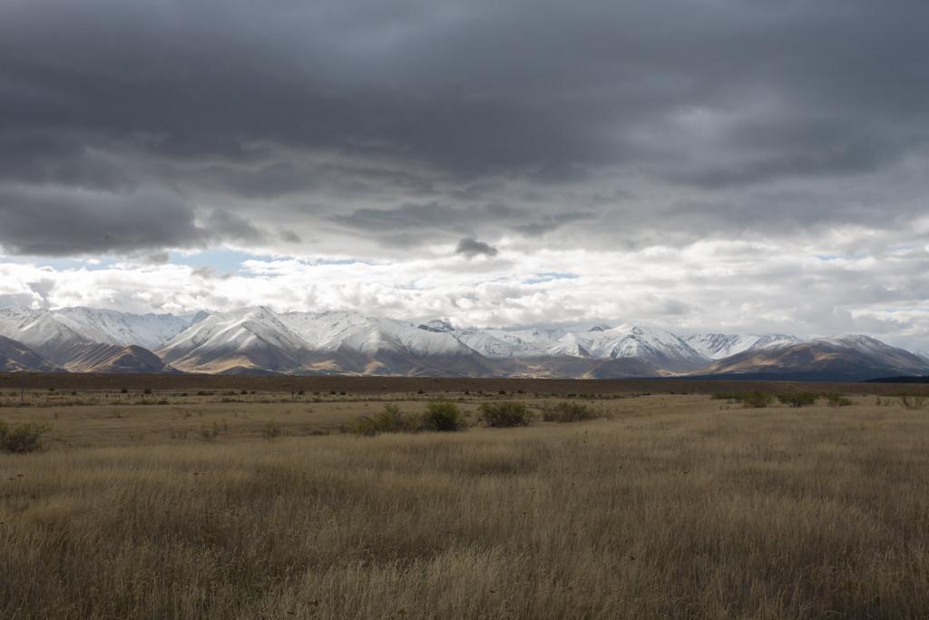 Twizel Mountain range by creative_shots