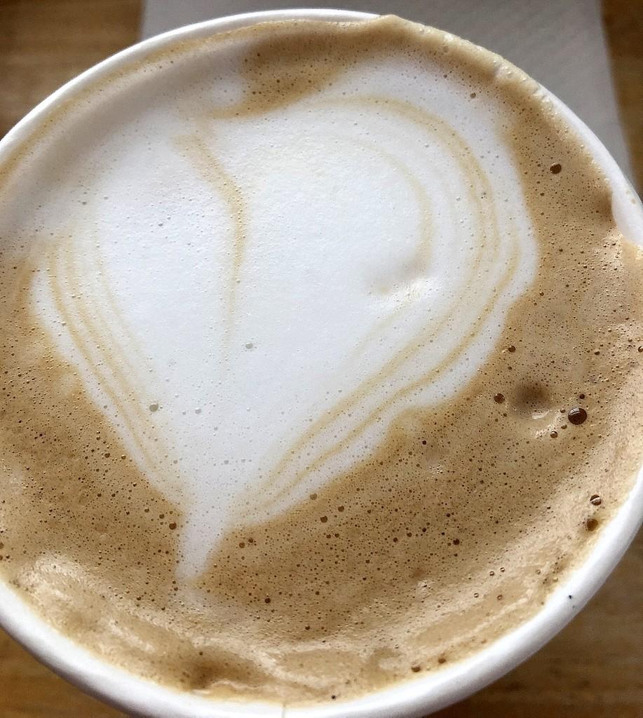 Lavendar and honey latte by homeschoolmom