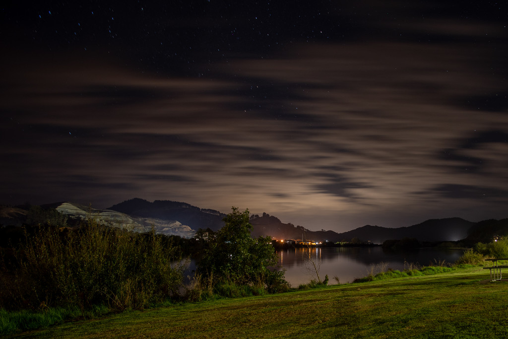 Quarry at Night by yorkshirekiwi