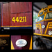 Locomotive 44211 - collage