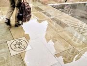 8th Apr 2019 - Reflecting pavement