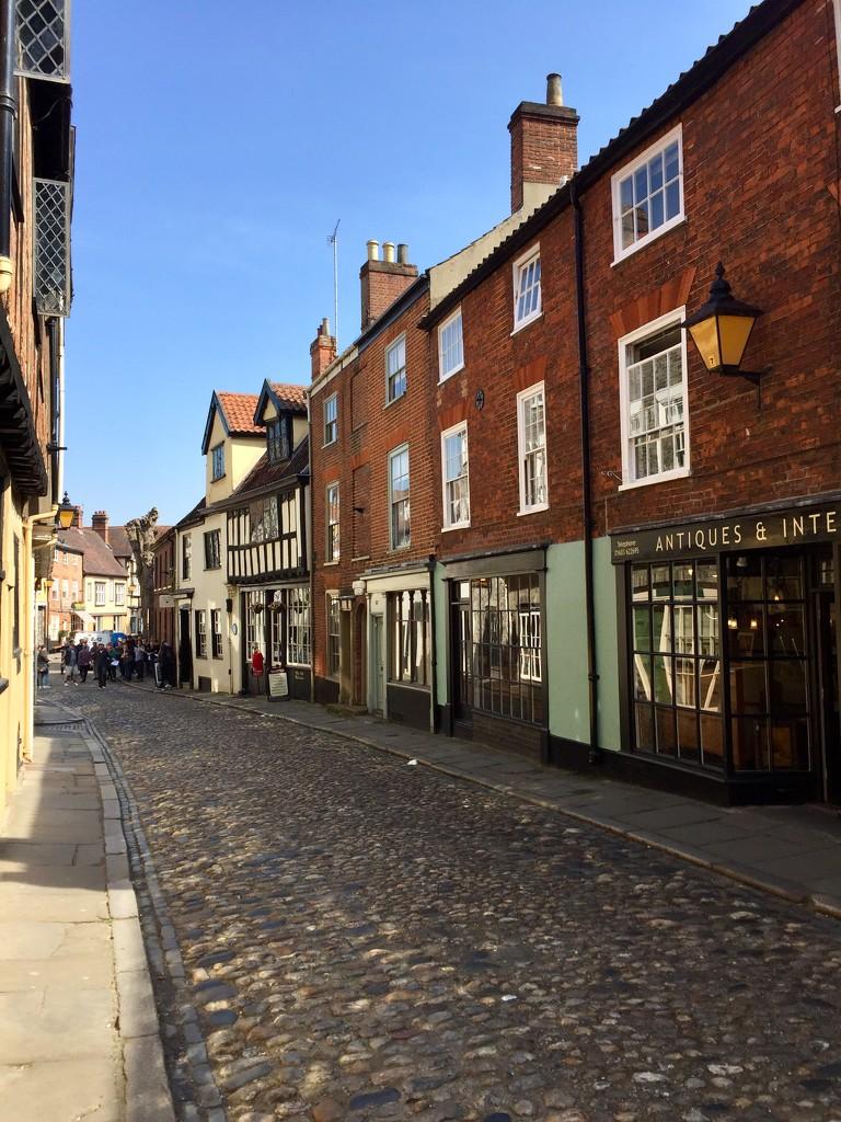 Elm Hill, Norwich by gillian1912