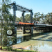 Lifting span, Swan Hill bridge