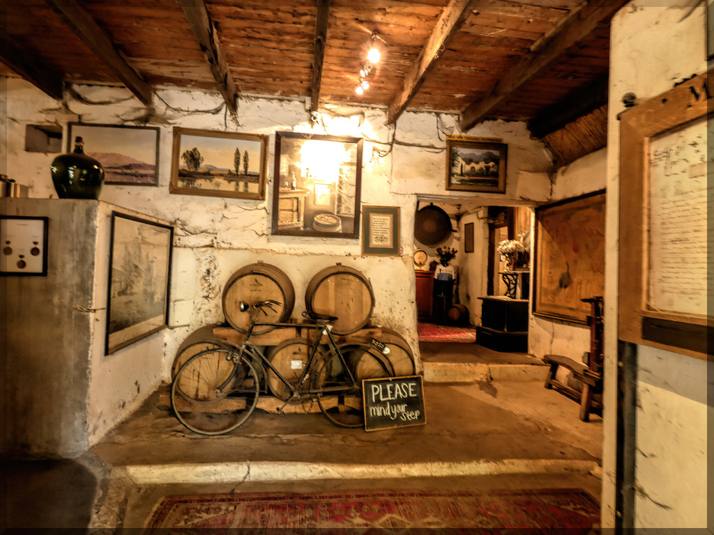 Entrance to the wine cellar by ludwigsdiana