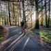 An evening bike ride