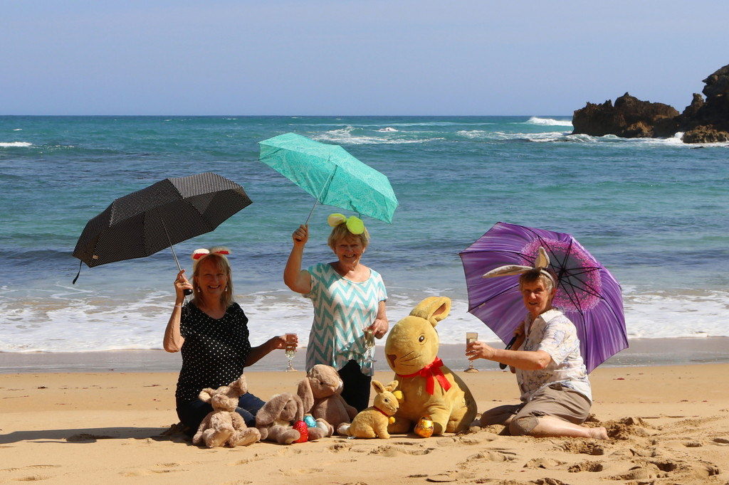 Happy Easter from the Brolly Girls by gilbertwood