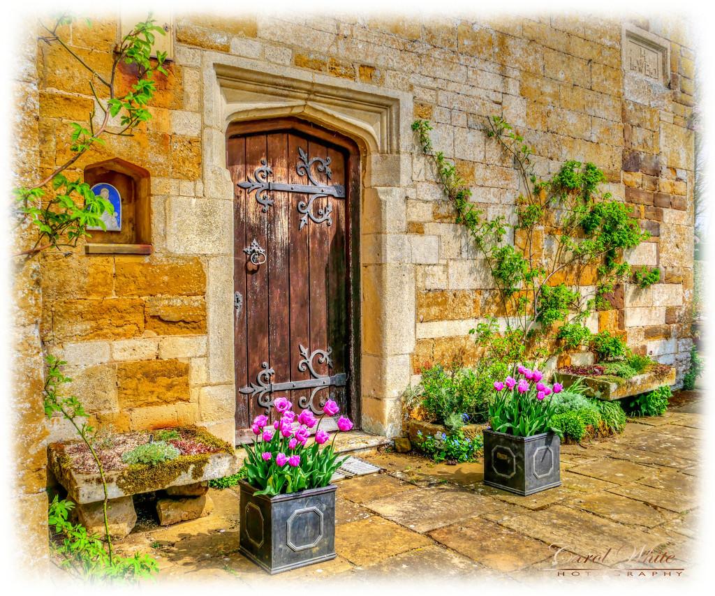 The Old Door,Coton Manor Gardens by carolmw