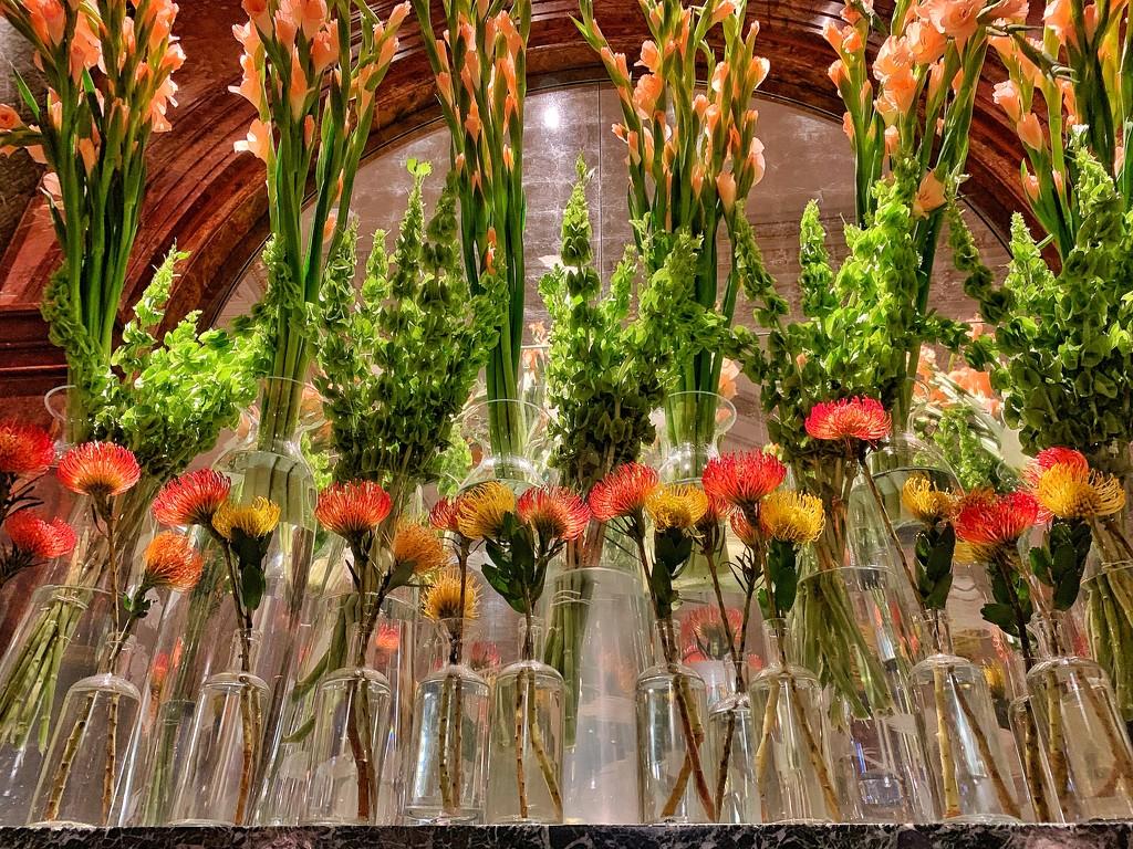 Flowers in Mandarin Oriental.  by cocobella