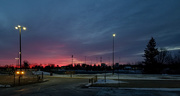 8th Mar 2019 - Parking lot sunset