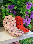 20th Apr 2019 - Pink and red hearts shoes.