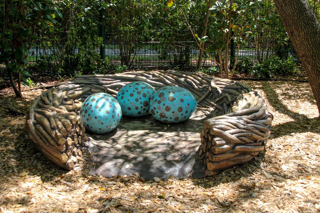 Blue Eggs by judyc57