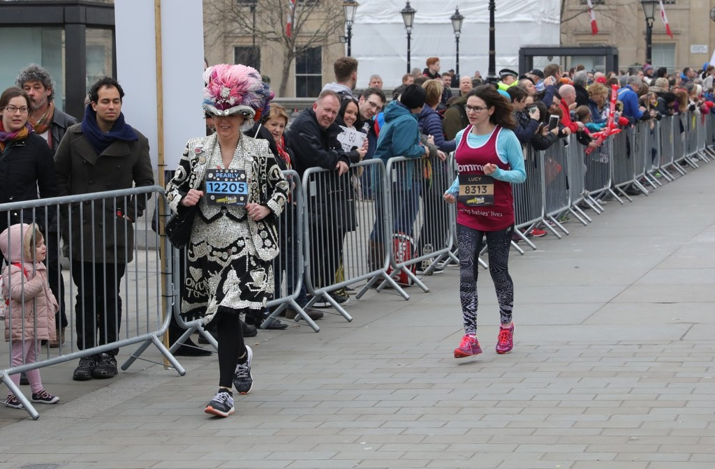 Pearly Queen running by netkonnexion