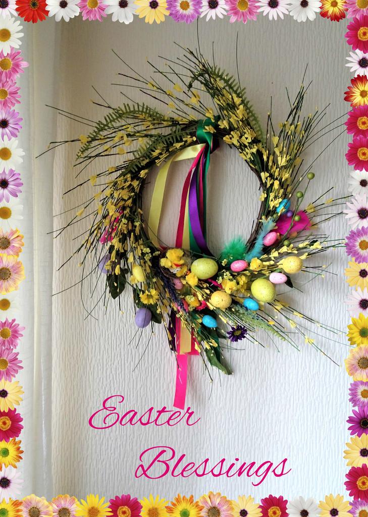 Easter Blessings  by beryl