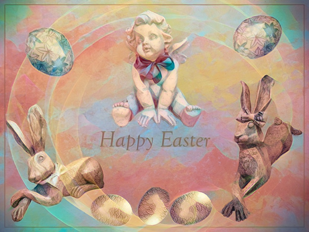Wishing everyone a Happy and Blessed Easter. by ludwigsdiana