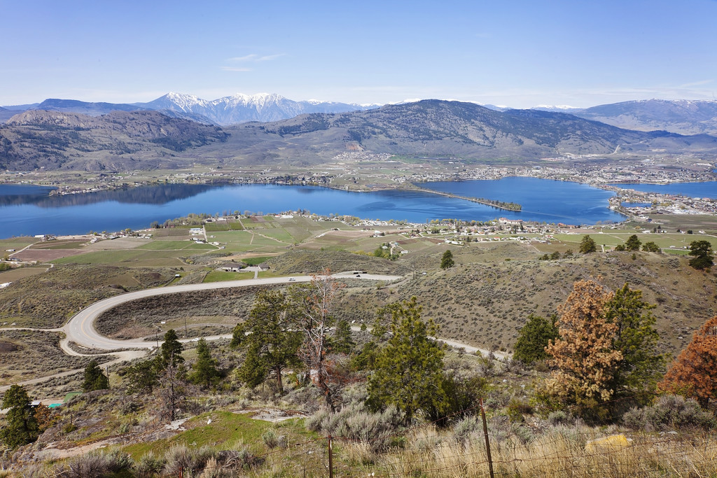Osoyoos in Spring by kiwichick