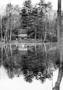 22nd Apr 2019 - Black and White reflections