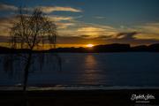 22nd Apr 2019 - Sunset on Svorksjøen