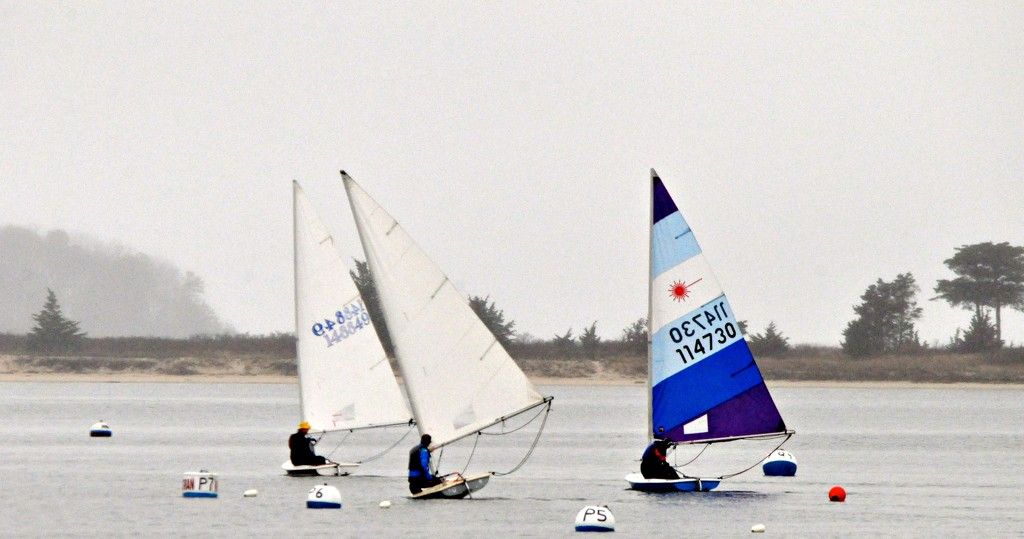 Racing without much wind. by sailingmusic