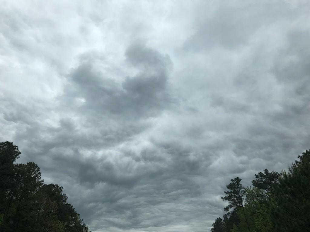 Crazy clouds by homeschoolmom