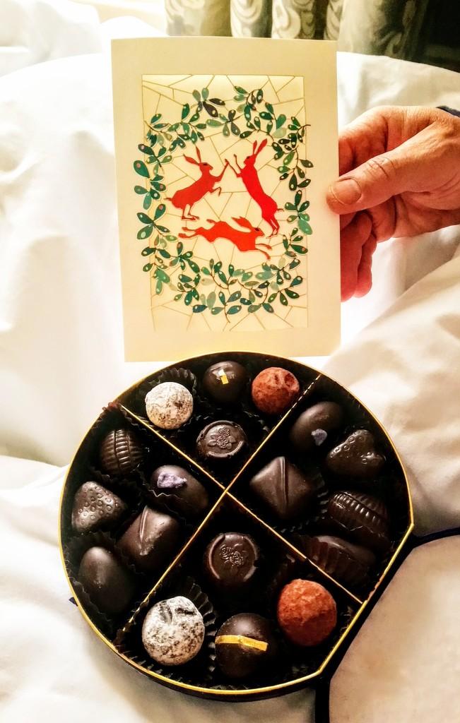 Birthday chocolates by boxplayer
