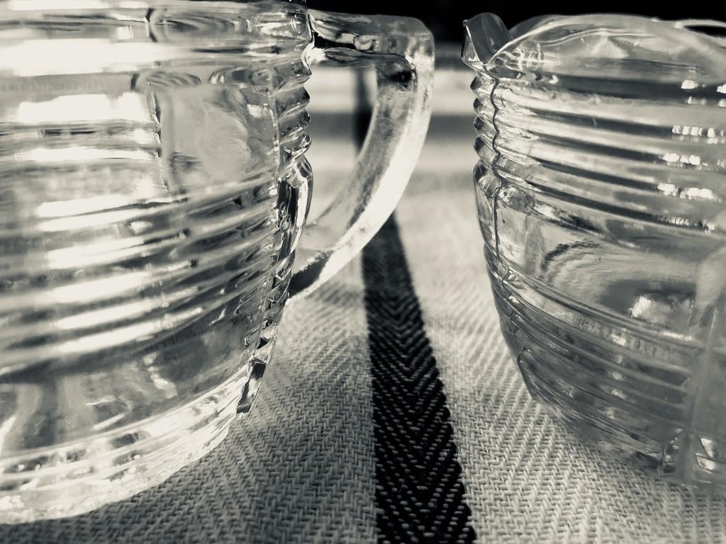 30 shots April - vintage glassware  by brigette