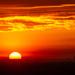 A Huge Sun Sets by taffy