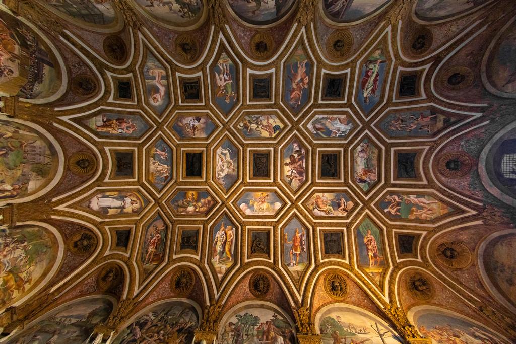 Palazzo Te Ceiling by jyokota