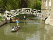 25th Apr 2019 - Punting under the mathematical bridge