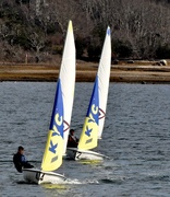 25th Apr 2019 - Sailing meet on a perfect day for sailing.