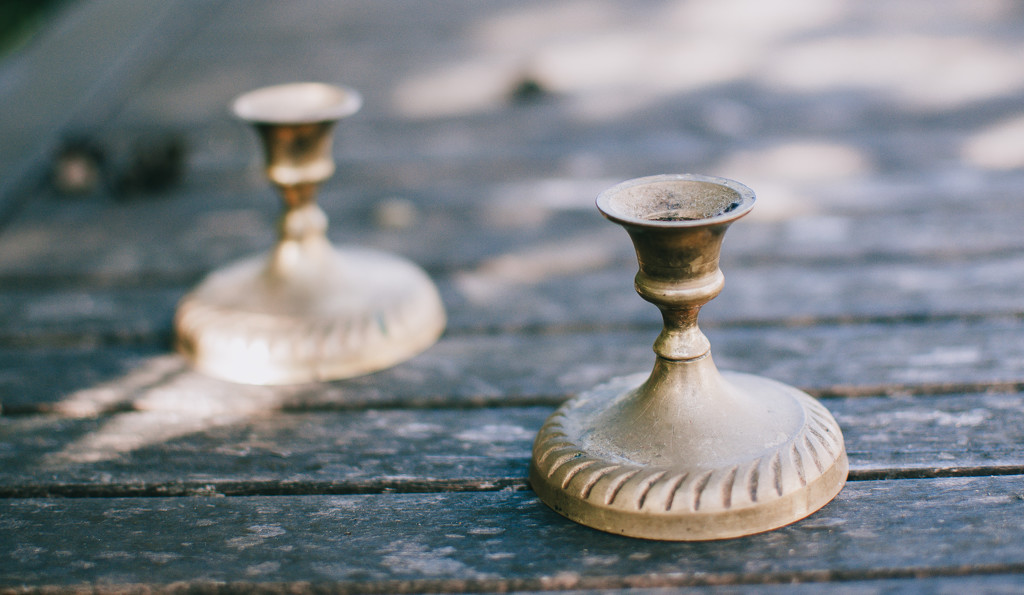 30 shots April - Two candle holders by brigette