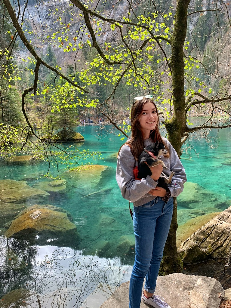 Alix at Blausee.  by cocobella