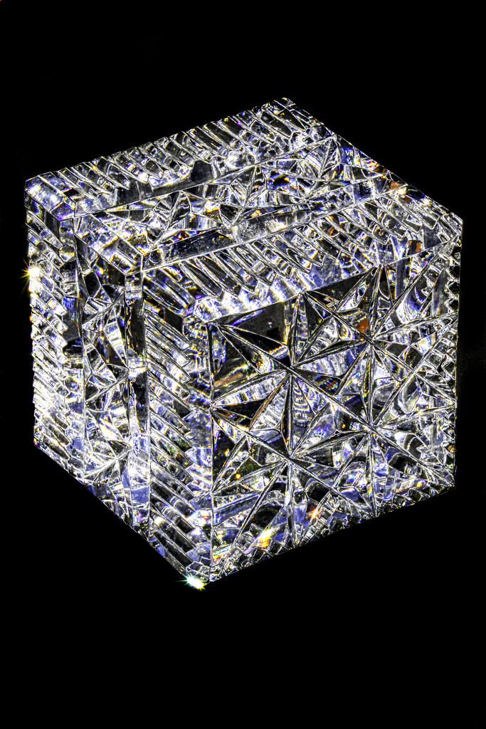 Crystal Cube by kvphoto