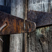 Rusty Hinge by farmreporter
