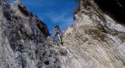 28th Apr 2019 - Climbing down