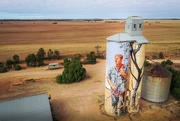 30th Apr 2019 - Painted silo