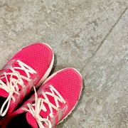 30th Apr 2019 - Pink trainers
