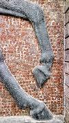 29th Apr 2019 - Refurbishing the mosaic black horse