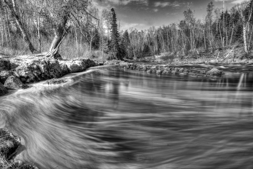 Temperance River by tosee