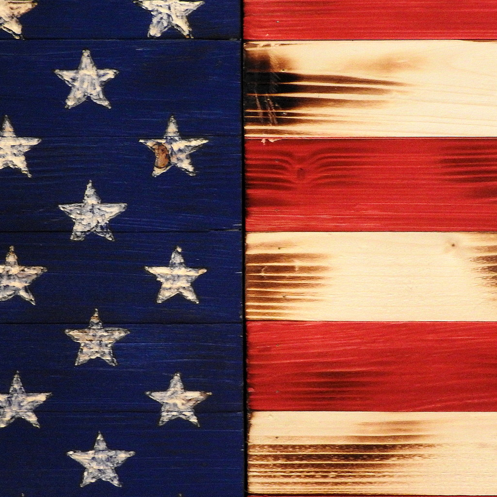 Half and half flag by homeschoolmom
