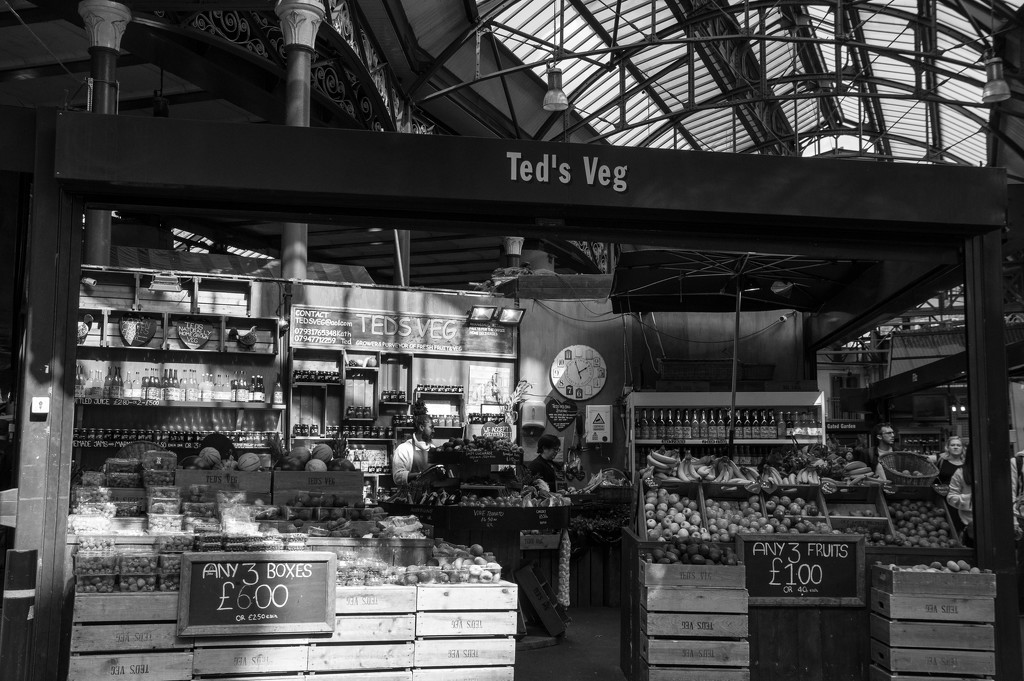 Borough Market  by brigette