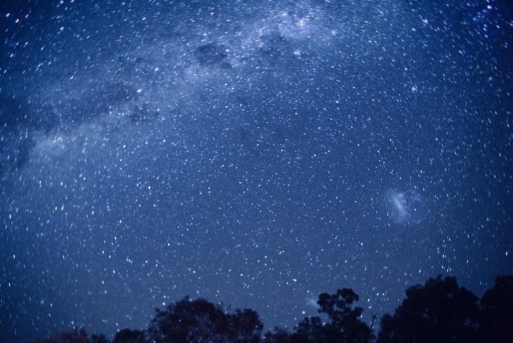 Namadji night sky by pusspup